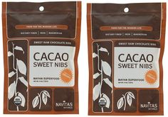 Navitas Naturals Organic Raw Cacao Nibs Sweetened, 4-Ounce Pouches (Pack of 2) ** Check this awesome product by going to the link at the image.