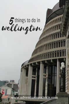 Looking for things to do in Welly over a weekend? Here are five great things to do in Wellington.