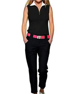 The Jofit Cropped Golf Pants is designed with a classic fit that's tailored in a sleek silhouette, everything you need on the course! #golf #ootd #lorisgolfshoppe