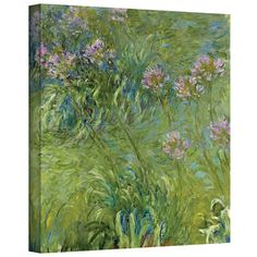 Found it at Wayfair - 'Agapanthus 2' by Claude Monet Painting Print on Canvas http://www.wayfair.com/daily-sales/p/Wall-Art-Under-%24100-%27Agapanthus-2%27-by-Claude-Monet-Painting-Print-on-Canvas~ARWL1344~E18075.html?refid=SBP.rBAZEVUTHzRKV3VgYL9bAg3I986Smkcjiwxq-a7DVuo