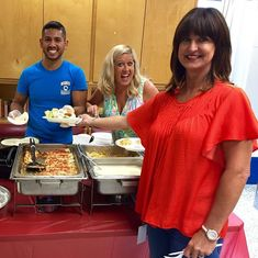 A huge THANK YOU to Dr Colvin for providing lunch for our staff today! #rodeolakepark  #lastweekofschool #delicious