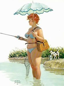 Pin-Up Fly Fishing Posters by William Medcalf - AllPosters.ca