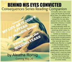 Behind His Eyes Convicted by Aleatha Romig! Release Date May 20!!