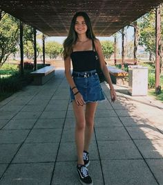 45 simple Frühlingsoutfits kombinieren Stilideen mit Jeans 29 45 simple spring outfits combine style ideas with jeans # spring outfits Spring Outfit Women, Spring Fashion Outfits, Summer Outfits, Summer Fashion For Teens, Mode Outfits, Outfits For Teens, Trendy Outfits, Girl Outfits, School Outfits
