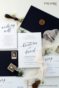 Wedding Cards, Wedding Invitations, Wishing Well, Seal, Reception, Stationery, Place Card Holders, Classy, Calligraphy