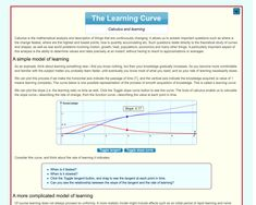 The Learning Curve  An interactive start to learning about Calculus, the study of change. Two introductory activities could be teacher-led, then students can practise constructing slope curves. Mathematical Analysis, Mathematics, Australian Curriculum, Calculus, Math Resources, Curves, Students, Study, Teacher
