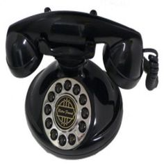 Shop For Christie 1921A Decorator Phone BLACK..!! At best price..Buy now!