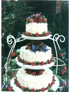 italian wedding cakes decorations with fruits | Cake Rack Bakery - Wedding cakes