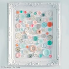 Upcycling Projects: Buttons | 43 Things to Never Throw Away by DIY Ready at http://diyready.com/43-things-to-never-throw-away/