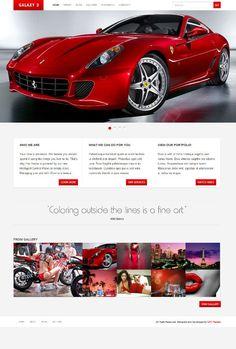 Clean business and portfolio style premium WordPress theme works on iCore Platform from UFO Themes