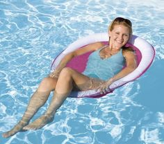 SwimWays Spring Float Papasan - white / pink by Swimways. $19.99. From the ManufacturerThe Spring Float Papasan is the most cofortable float ever! Sit-up style makes this float perfect for the ocean, lake, river, or pool. Springs open and closes instantly. Soothing mesh, papasan style seat provides ultimate comfort. Jet Valve allows for easy inflate/deflate. Carry/storage bag included.Product DescriptionThe Spring Float Papasan is the most cofortable float ever...