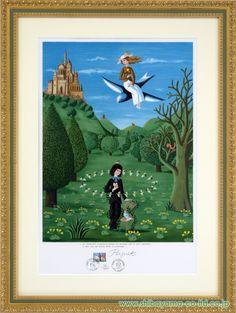 レイモン・ペイネ「春の訪れ」 :: 絵画・額縁のシバヤマ