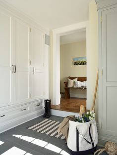 cabinets for hallway...Traditional Entry Design, Pictures, Remodel, Decor and Ideas - page 22