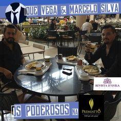 Uma pausa agora para um delícioso almoço no restaurante Premiatto! Os Poderosos amaram a comida e o atendimento!