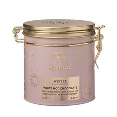 Luxury White Hot Chocolate Kilner Tin | Whittard of Chelsea http://www.whittard.co.uk/hot-chocolate/hot-chocolate-flavours/luxury-white-hot-chocolate-kilner-tin.htm