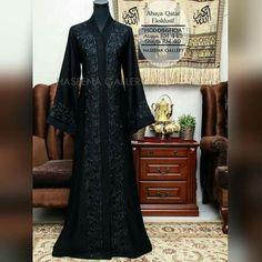 Islamic Fashion, Muslim Fashion, Dress Sleeves, Dresses With Sleeves, Arabic Dress, Mode Abaya, Abaya Style, Muslim Dress, Hijab Chic