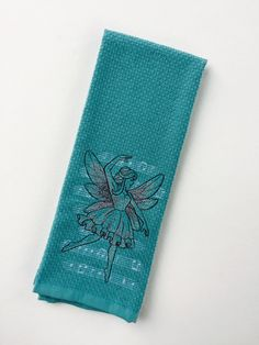 A personal favorite from my Etsy shop https://www.etsy.com/listing/481263317/musical-dancing-fairy-hand-towel-fairy