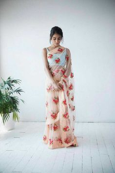 *New arrivals*. 💥 *DIWALI COME WEDDING* 💥 Fabric *PURE MONO NET* with beautiful *REAL PERL LASE* AND *EMBROIDERY WORK * Original quality BEST QUALITY ASSURED