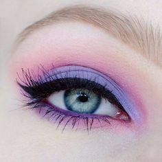 Make up. - Purple in Pink / step by step - - Make up. – Purple in Pink / step by step Makeup Make up. – Purple in Pink / step by step Makeup Vs No Makeup, Makeup Eye Looks, Purple Makeup, Eye Makeup Art, Cute Makeup, Makeup Goals, Makeup Geek, Makeup Inspo, Eyeshadow Makeup
