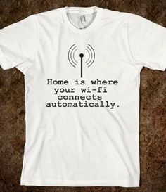 home. :)