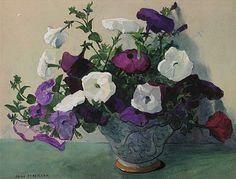 Jane Peterson Petunias 20th century