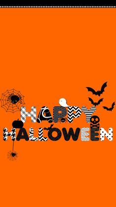 Halloween Halloween Wallpaper Iphone, Holiday Wallpaper, Fall Wallpaper, Halloween Backgrounds, Wallpaper Iphone Cute, Cellphone Wallpaper, Phone Wallpapers, Halloween Quotes, Halloween Items