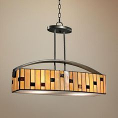 """Mojave Collection 24"""" Wide Dale Tiffany Pendant Chandelier"""