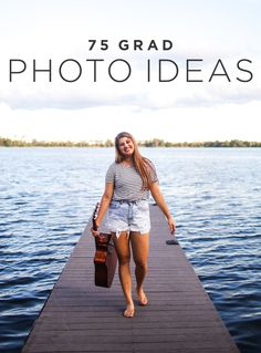 Check out 75 creative graduation photo ideas to stand out from the crowd. From classic poses to decorating your cap, these graduation photo ideas will help you find your style this 2017. | Shutterfly
