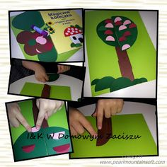 I&K W Domowym Zaciszu: Wiosenne drzewko