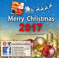 Segenap Management Oxy Residence & Reflexy and Facial mengucapkan Selamat Natal 2017 #oxyresidence #oxyreflexyandfacial #christmas2017