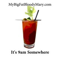 It's Somewhere bloody Mary sticker Online Printing Services, Printing Companies, Postcard Printing, New Sticker, Bloody Mary, Shot Glass, Digital Prints, Drinking, Cocktails