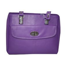 Pure Leather Women s Hand Bag (Violet)(BW011HBV)