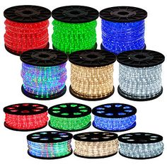 50 100 150 led rope light 110v home party christmas decorative string lights fairy lights 116022 50 100 150 300 led rope lights home in outdoor aloadofball Image collections
