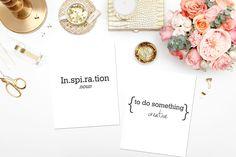 in·spi·ra·tion: /ˌinspəˈrāSH(ə)n/. (noun) 1. To do something creative. #mondaymotivation #marketing #creative #design