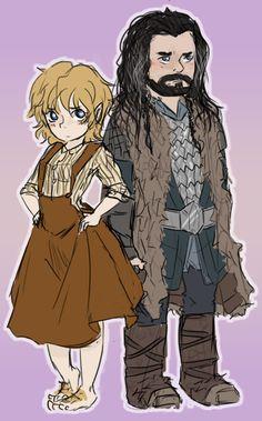 fem!Bilbo by ~221bee on deviantART