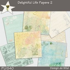 Delightful Life Papers 2 :: Papers :: Memory Scraps