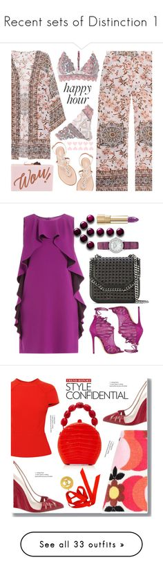 """""""Recent sets of Distinction 1"""" by scolab ❤ liked on Polyvore featuring Frogbox, Aquazzura, Ted Baker, River Island, Boutique Moschino, Jimmy Choo, STELLA McCARTNEY, Dolce&Gabbana, Miu Miu and Christian Louboutin"""