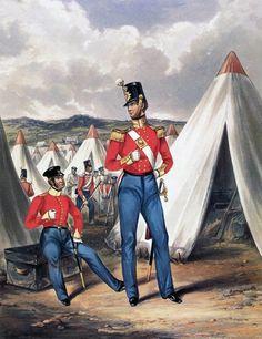 British Regiment: Battle of Inkerman on November 1854 in the Crimean War British Army Uniform, Crimean War, Navy Sailor, Royal Marines, The 5th Of November, Military Art, Photo Reference, Napoleon, Battle