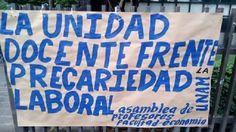 MANIFIESTO DEL PRIMER ENCUENTRO DOCENTE CONTRA LA PRECARIEDAD LABORAL EN LA UNAM