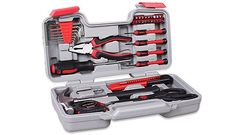 Details about Tool Kit 39 pcs Handy Blow Molded Case Household Repair Tools Chrome Plated - Dorm - Apartment Diy Apartment Decor, Small Apartment Decorating, Apartment Interior Design, Studio Decorating, Apartment Ideas, First Apartment Checklist, First Apartment Essentials, Small Studio Apartments, Small Apartment Living