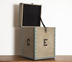 EL PASO IMPORT CO. - Vintage Tent Storage Box