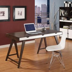 Trestle Desk - Desks and Tables - Office - Products - Blue Sun Tree