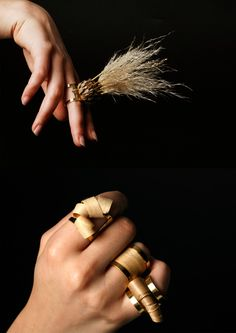 mixed media jewelry by Georgina Orme
