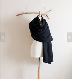 linen wrap shawl  made to order pick your by annyschooecoclothing, $45.00