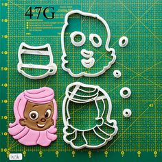 Bubble Guppies Cookie Cutter bubble guppies tutububble by jbkgift