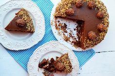 Tort Ferrero Rocher - Retete culinare by Teo's Kitchen Ferrero Rocher, Muffin, Breakfast, Kitchen, Food, Morning Coffee, Cooking, Kitchens, Essen