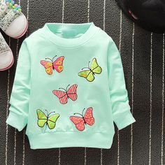2019 New Arrival Baby Girls Sweatshirts Winter Spring Autumn Children Hoodies 6 Cats Long Sleeves Sweater Kids T-shirt Clothes Stylish Baby Clothes, Baby Kids Clothes, Kids Clothing, Shirt Jacket, Shirt Outfit, Spring Shirts, Baby Winter, Baby Sweaters, Baby Girl Fashion