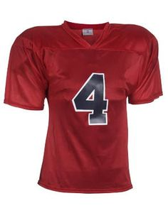 363ca09c6f3 Adult Flag Star Football Jersey - Double shoulder yoke with full cut  sleeves Full length