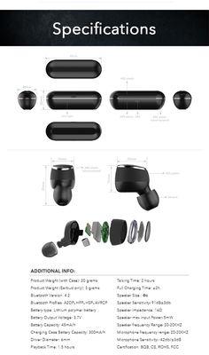 Verve TWS Wireless Earbuds by Verve Design — Kickstarter