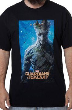 GROOT Poster T-Shirt: Marvel Comics, Guardians Of The Galaxy T-shirt